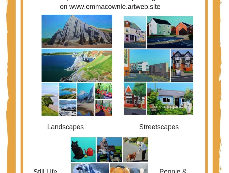 January Sale on Emma Cownie Paintings