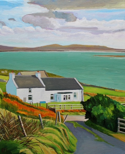Painting of Donegal, Landscape