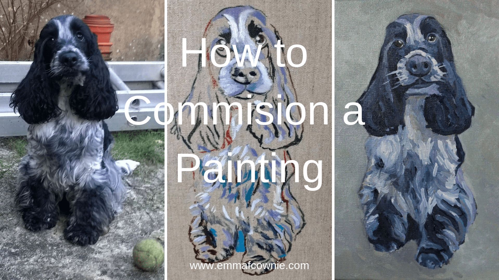 How to commission a painting