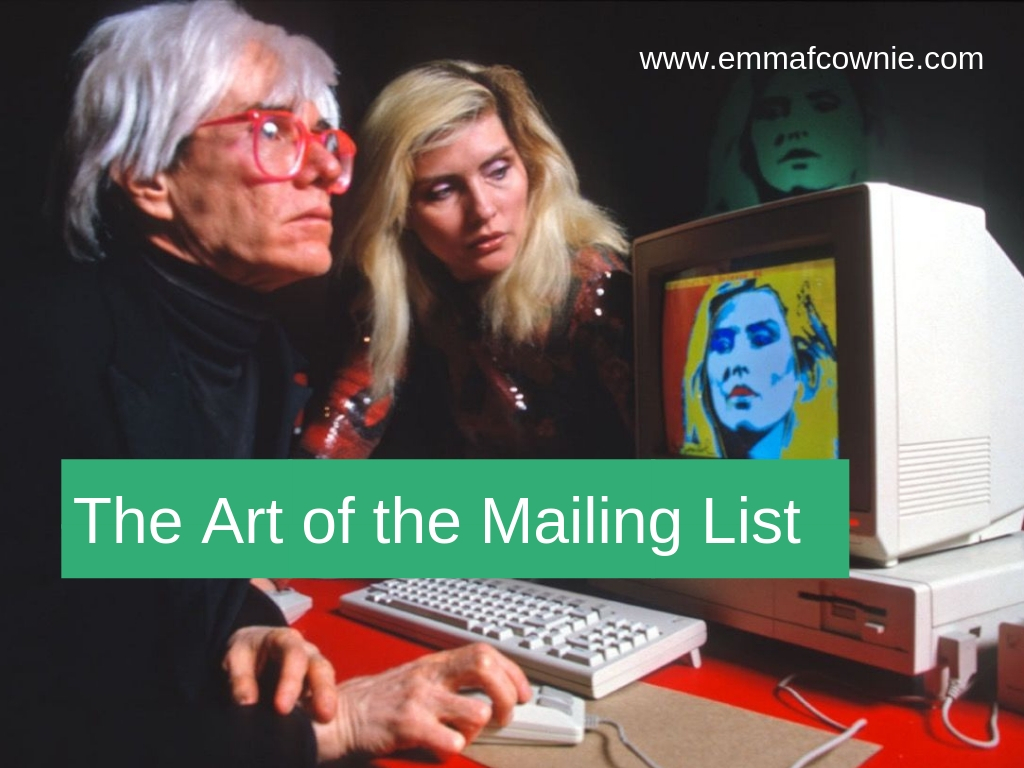 The Art of the Mailing List