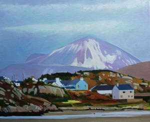 Painting of Kinclassagh, Donegal