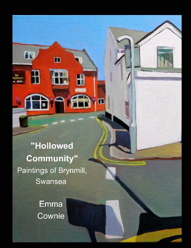 Paintings of Brynmill Swansea By Emma Cownie