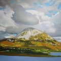 Painting of Donegal Errigal