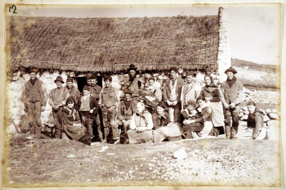 People of Gweedore as photographed by James Glass 19th century