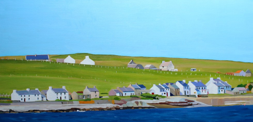 Donegal Painting of Inishbofin
