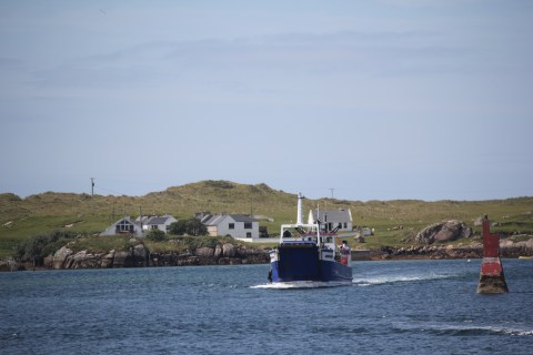 Blue Ferry to Arranmore Donegal, Ireland