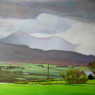 Rain over Dunfanaghy