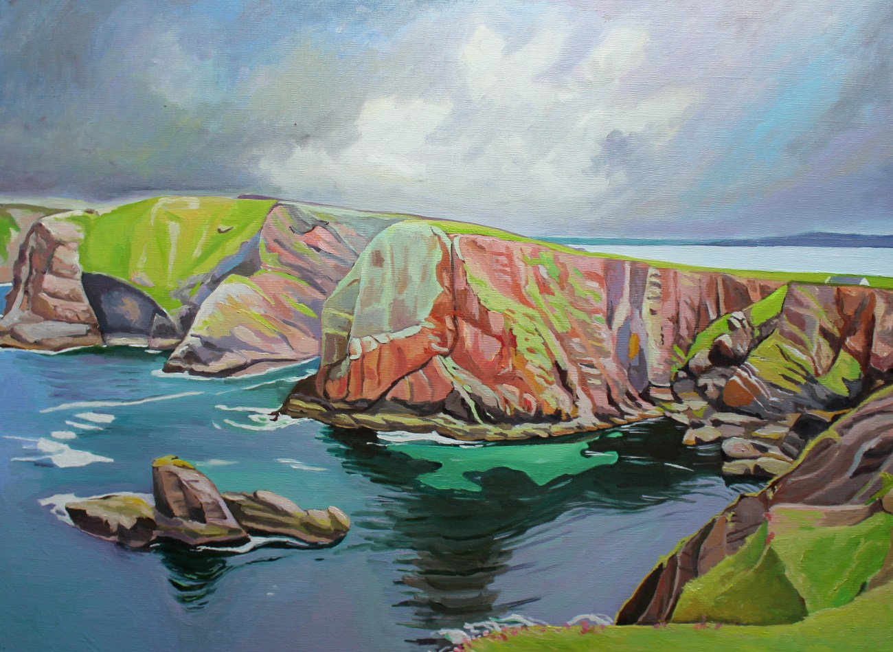 Painting of Tory Island