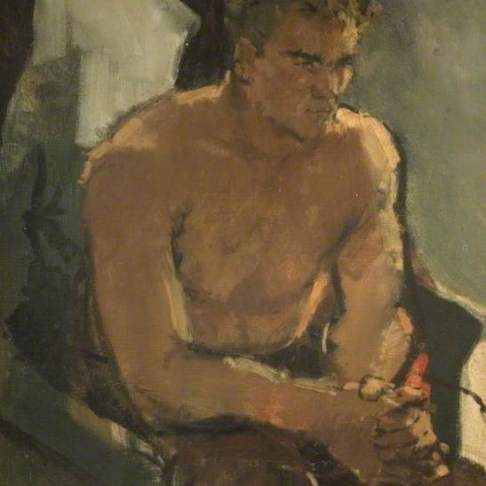 Hill, Derek; Boxer Resting, Don Cockell; Birmingham Museums Trust; http://www.artuk.org/artworks/boxer-resting-don-cockell-34233