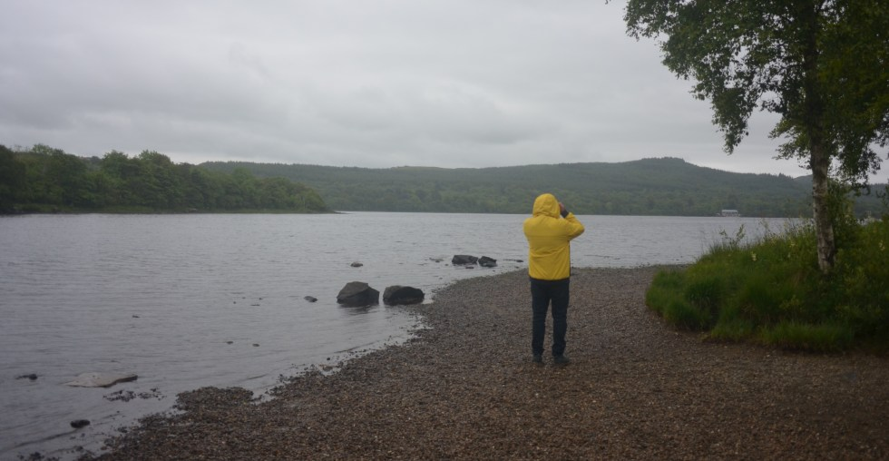 Lough Gartan, near Glebe House