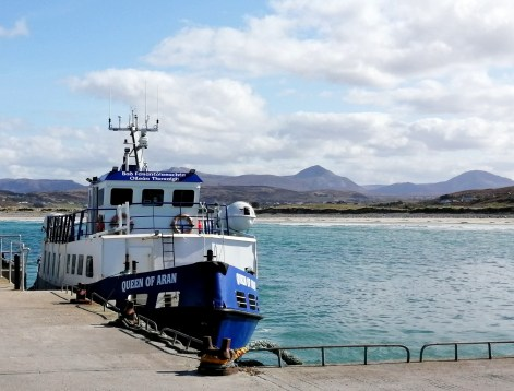 Queen of Aran - Ferry to Tory