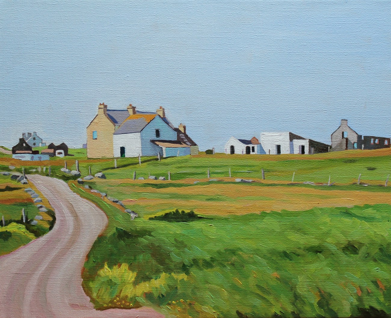 Painting of Gola, Donegal