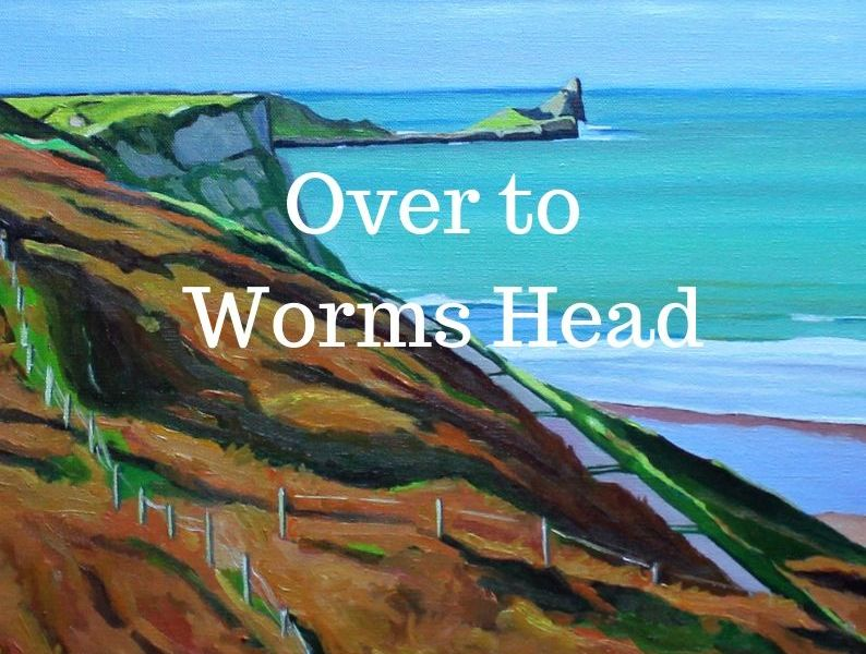 Painting of Worms Head