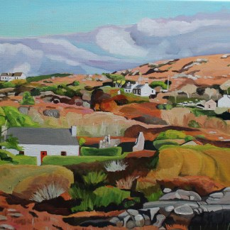 Painting of Donegal Ireland