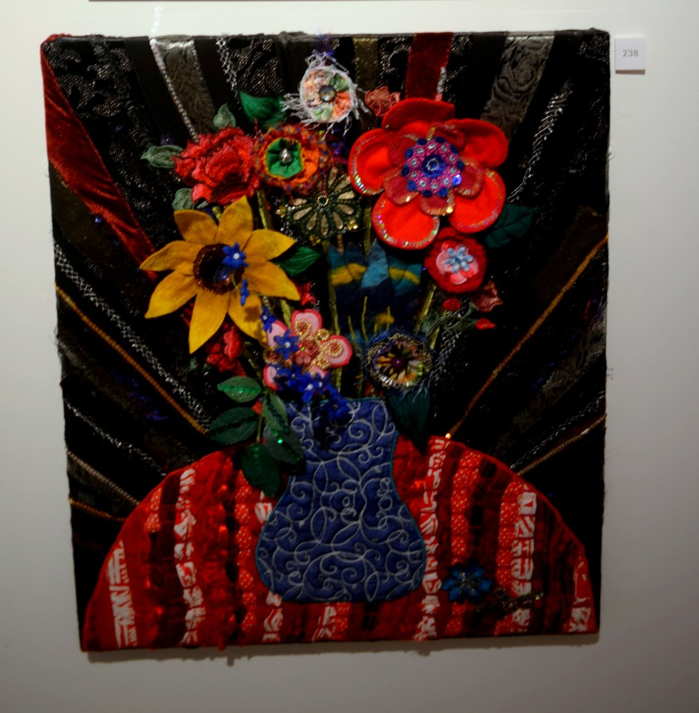 """Textile Bouquet"" by Eleanor Anne Owens"