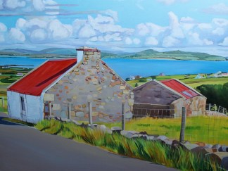 Irish Landscape painting_Emma Cownie