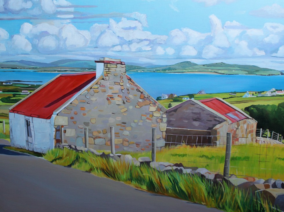 Irish Landscape painting_Emma Cownie