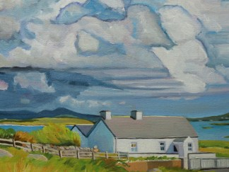 Darkening Clouds On Maghery