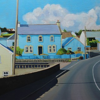 Painting of Kincasslagh, Donegal Ireland