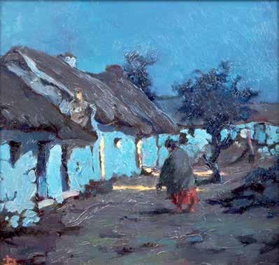 Lilian Lucy Davidson ARHA (1879-1954) Night at Claddagh (circa 1933)