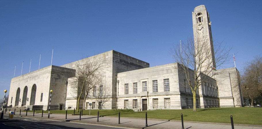 The Brangwyn Hall in Swansea.