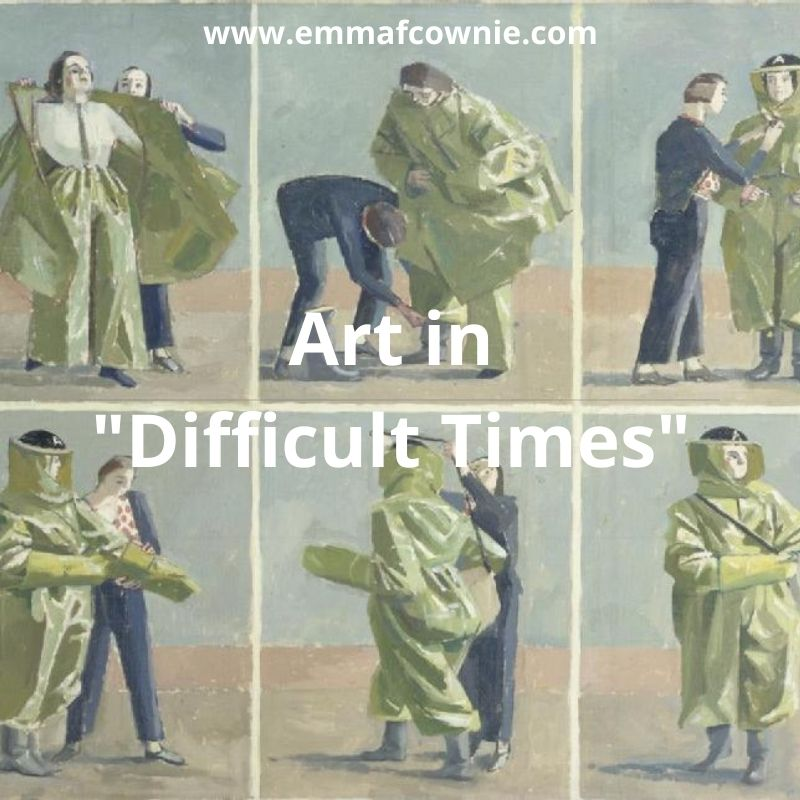 """Art in """"Difficult Times"""""""