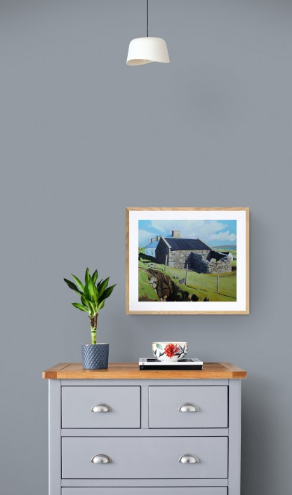 Pinting od Arranmore Ireland