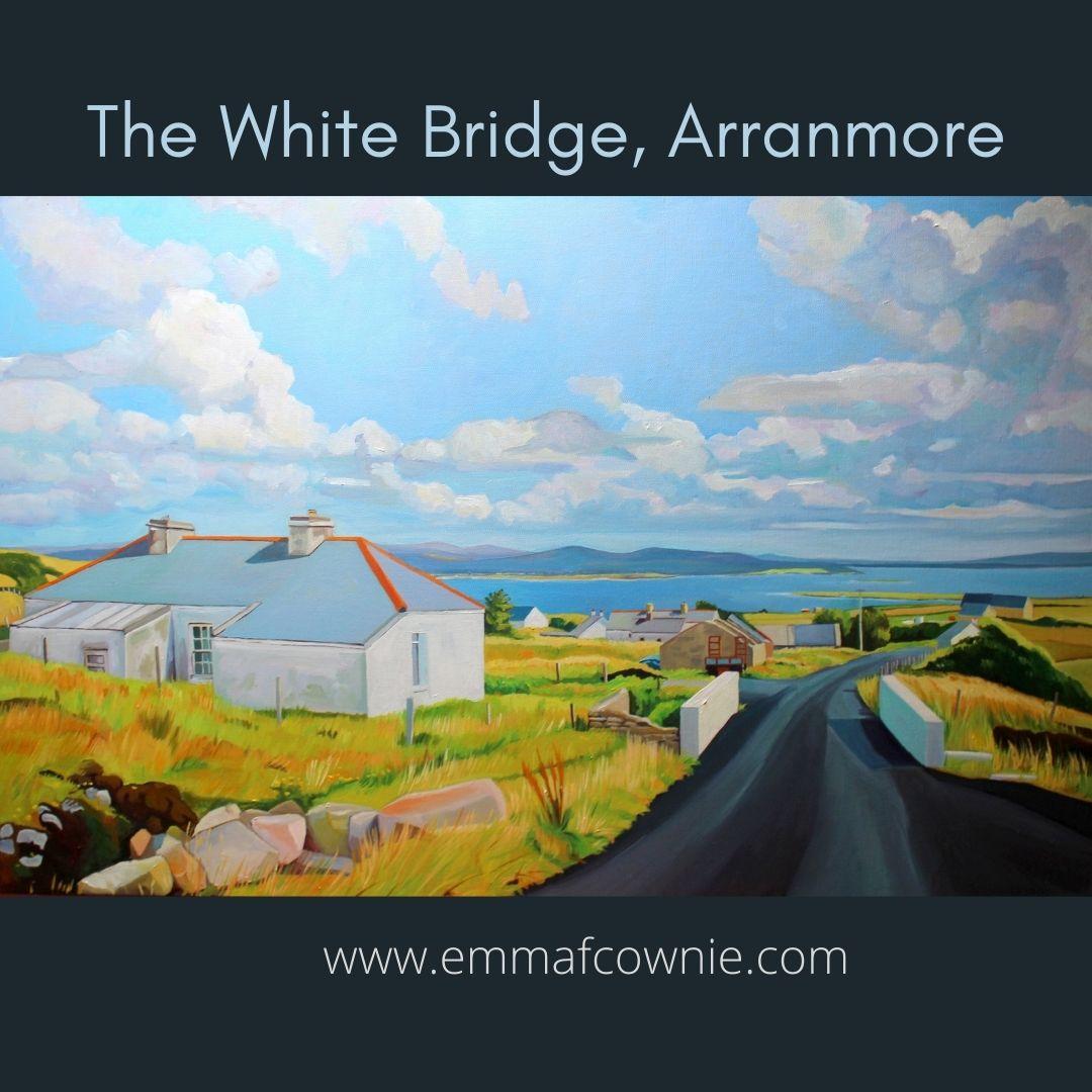 The White Bridge, Arranmore (Ireland)