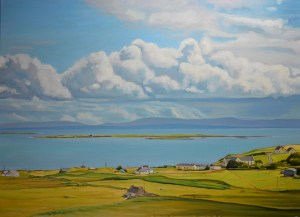 Inishkeeragh from Arranmore, Ireland