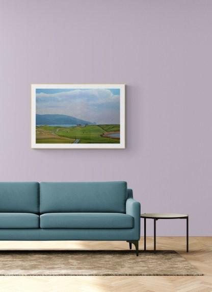 Painting of Tromore Ireland