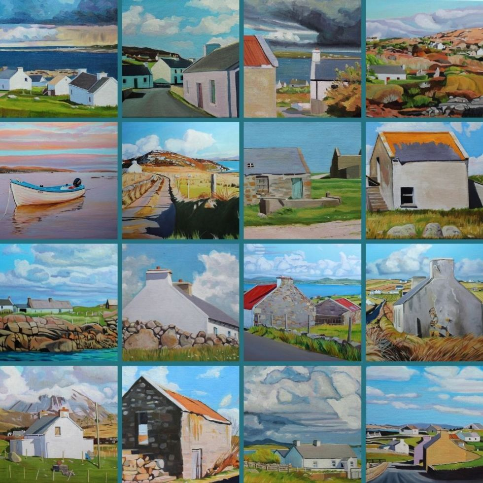 Some of my paintings of Ireland sold in 2020