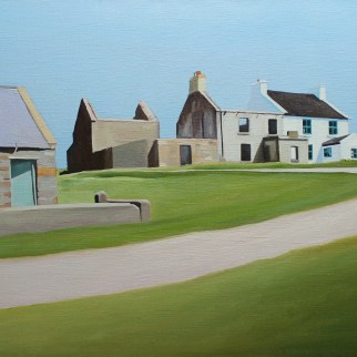 Landscape painting of Gola, Donegal_Emma Cownie