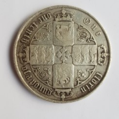 An English florin from the reign of Victoria