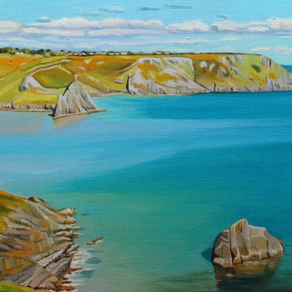 Spring Tide, Three Cliffs Bay