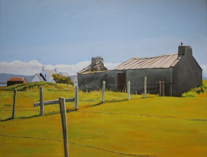 Painting of Marameelan, Donegal