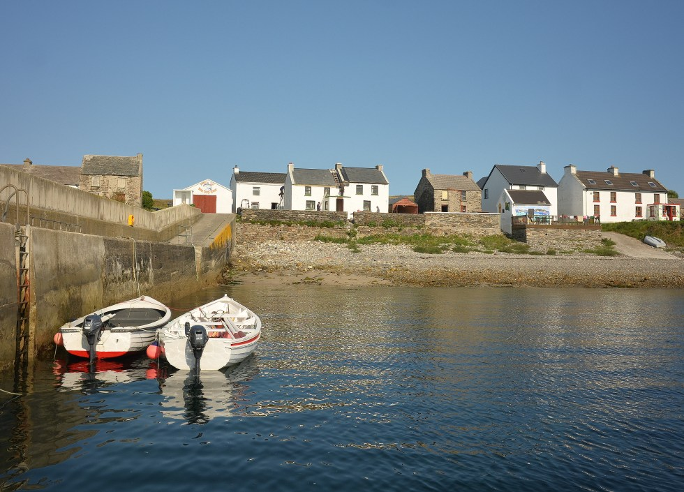 The Pier at Inishbofin