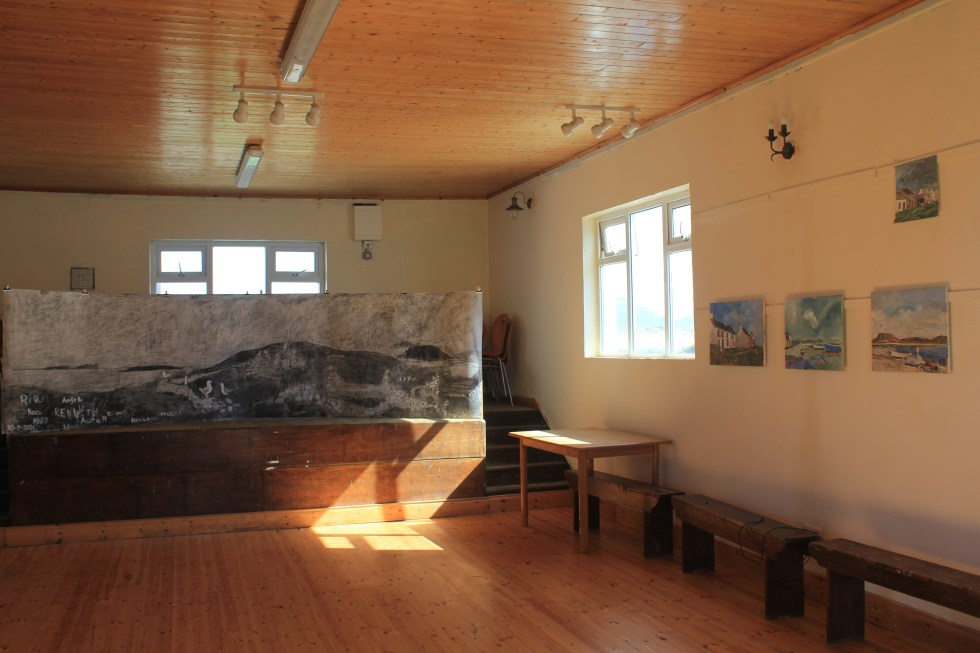 Cahill McGinley exhbition on Inishbofin