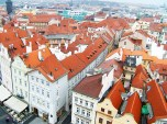 View from Old Town Hall Tower, Prague