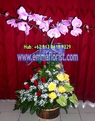 Rangkaian Bunga Meja 12