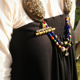 vikingatid, hängselkjol, køstrup, smokkr