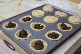 Tartaletas de frutas... para el horno/ Mince pies... for the oven