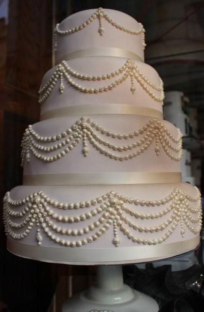 Fitzbillies wedding cake