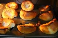 Púdines de Yorkshire/ Yorkshire puddings