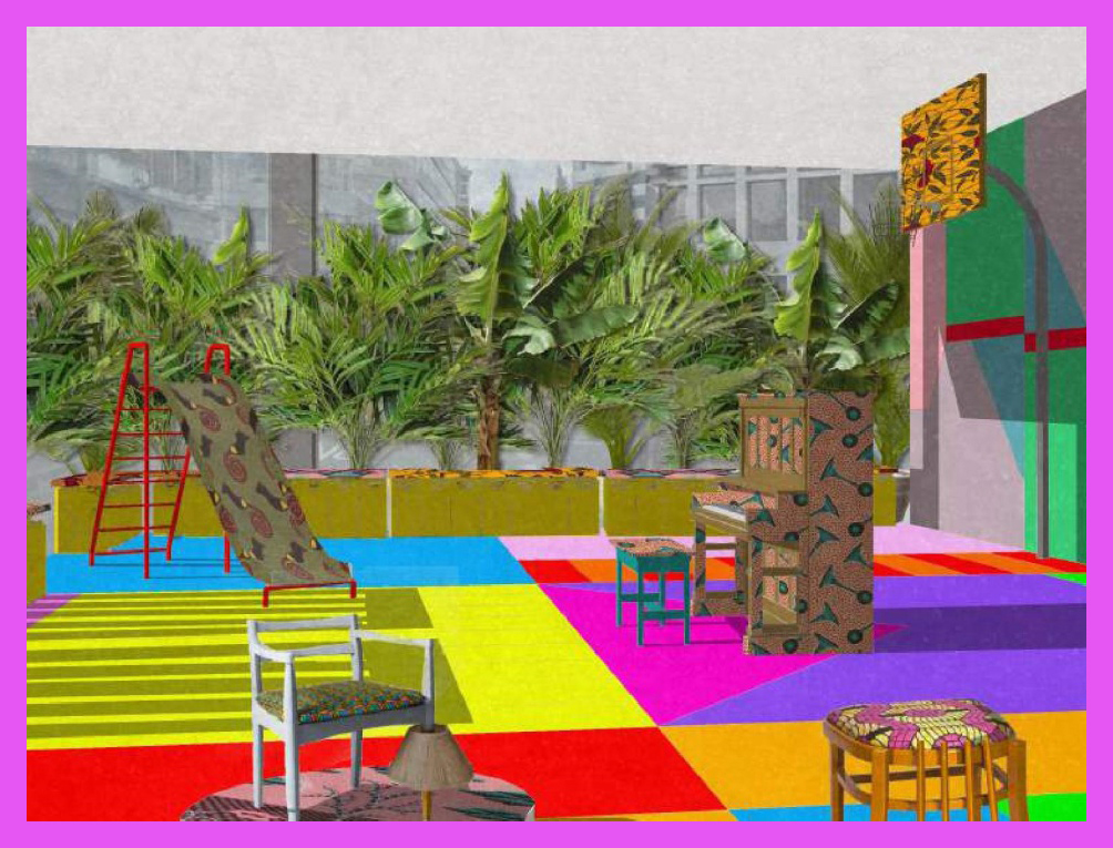 citizenM-Shoreditch-Estate-Playground-Yinka-Ilori-London-Design-Festival-2017