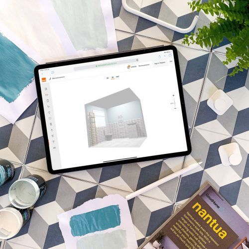 BQ Good Home Bathroom Planner mood board