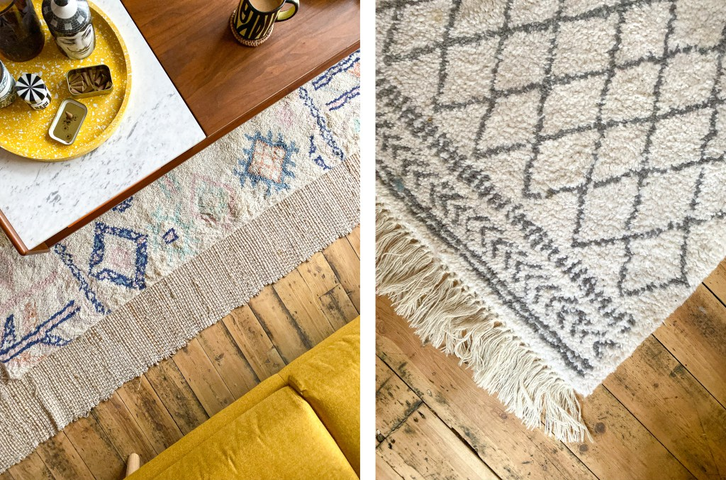 berber rugs with fringing