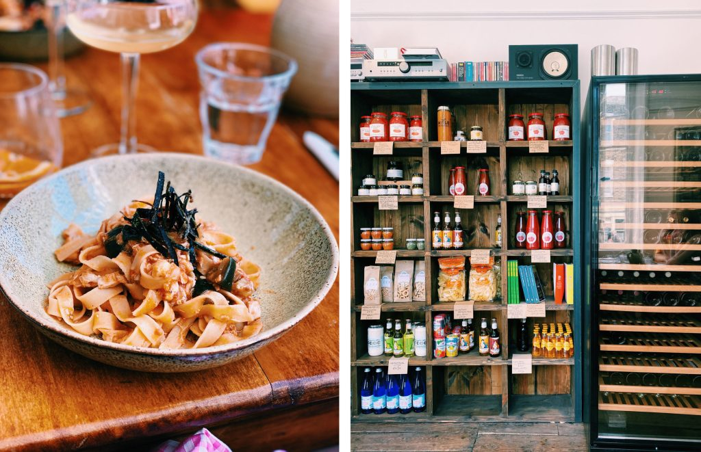 where to eat in Margate - fresh Italian at Bottega Caruso
