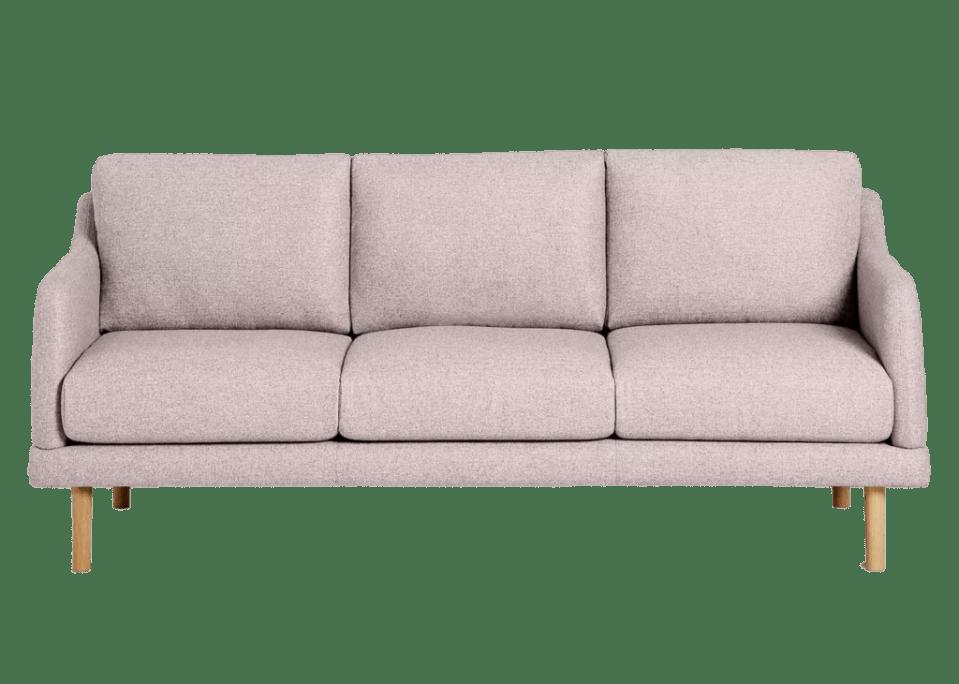 John Lewis ANYDAY pink sofa
