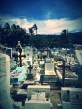 the Santa Cruz Cemetery