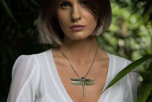 Dragonfly Pendant - Emma Keating Jewellery CW3